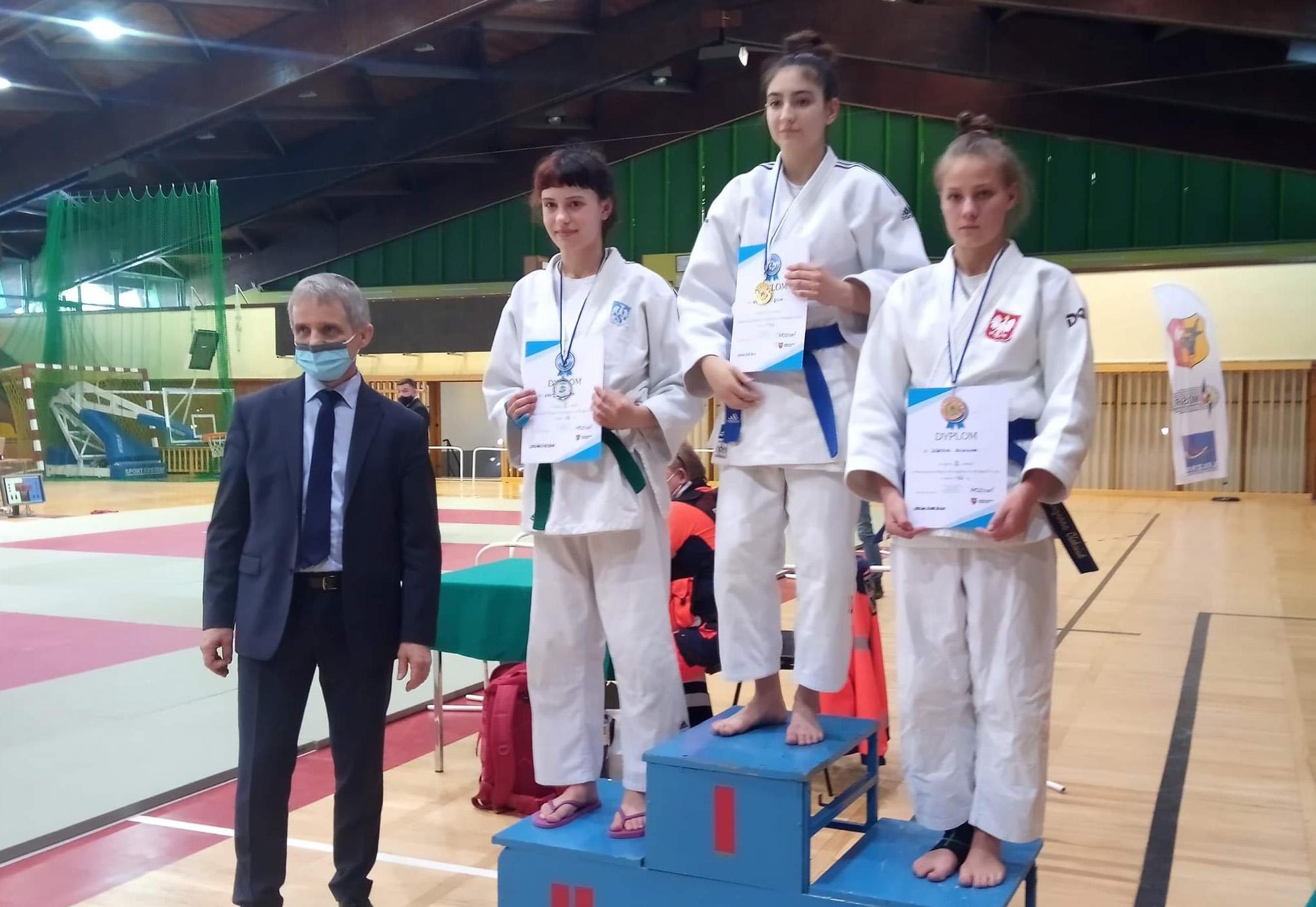 Sukcesy strzegomskich judoczek [FOTO]