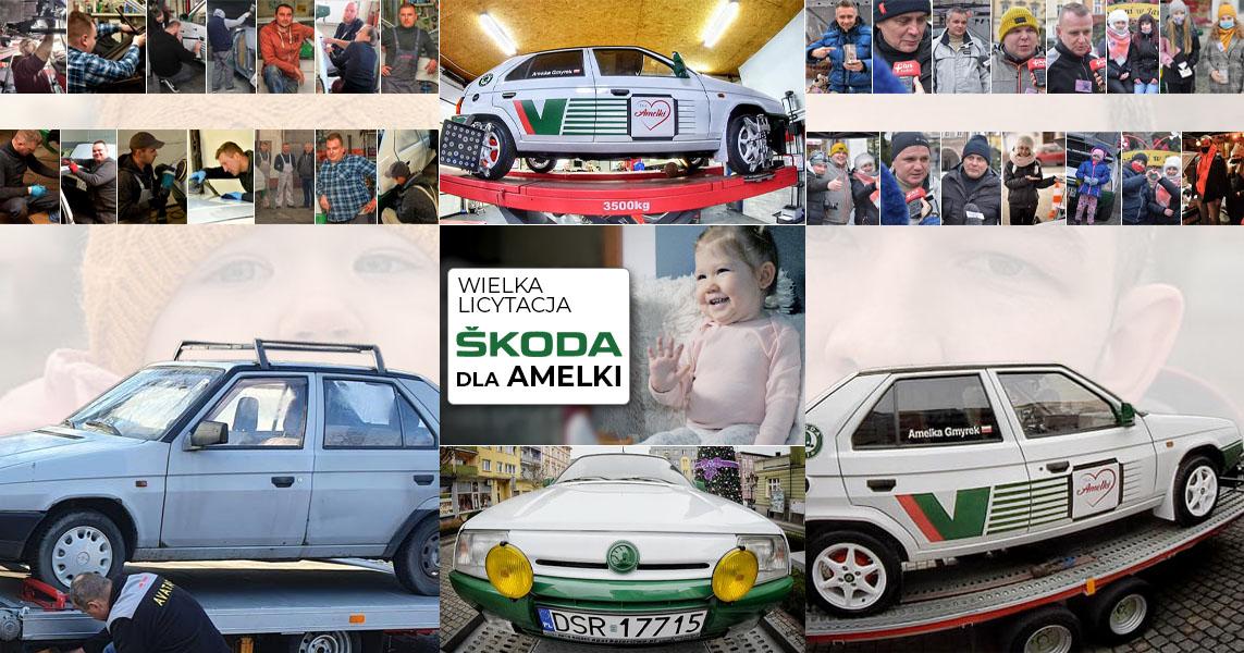 Zebrali 50 tys. zł dla Amelki [FOTO]