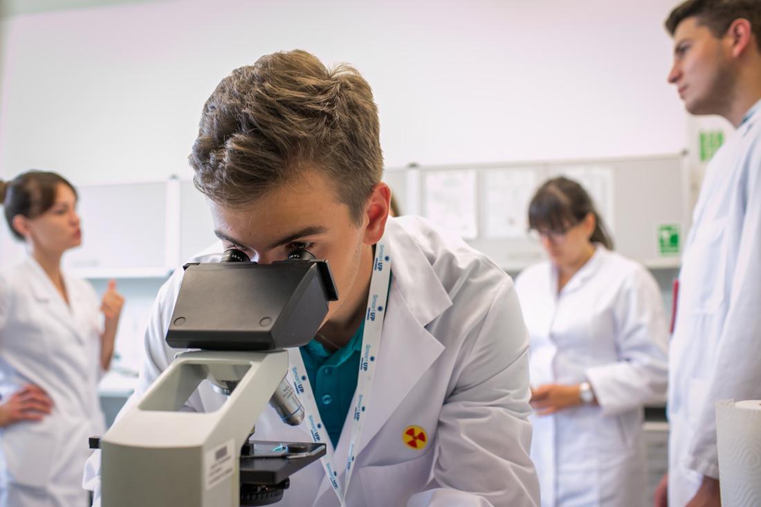 Strzegomianin na elitarnym obozie naukowym