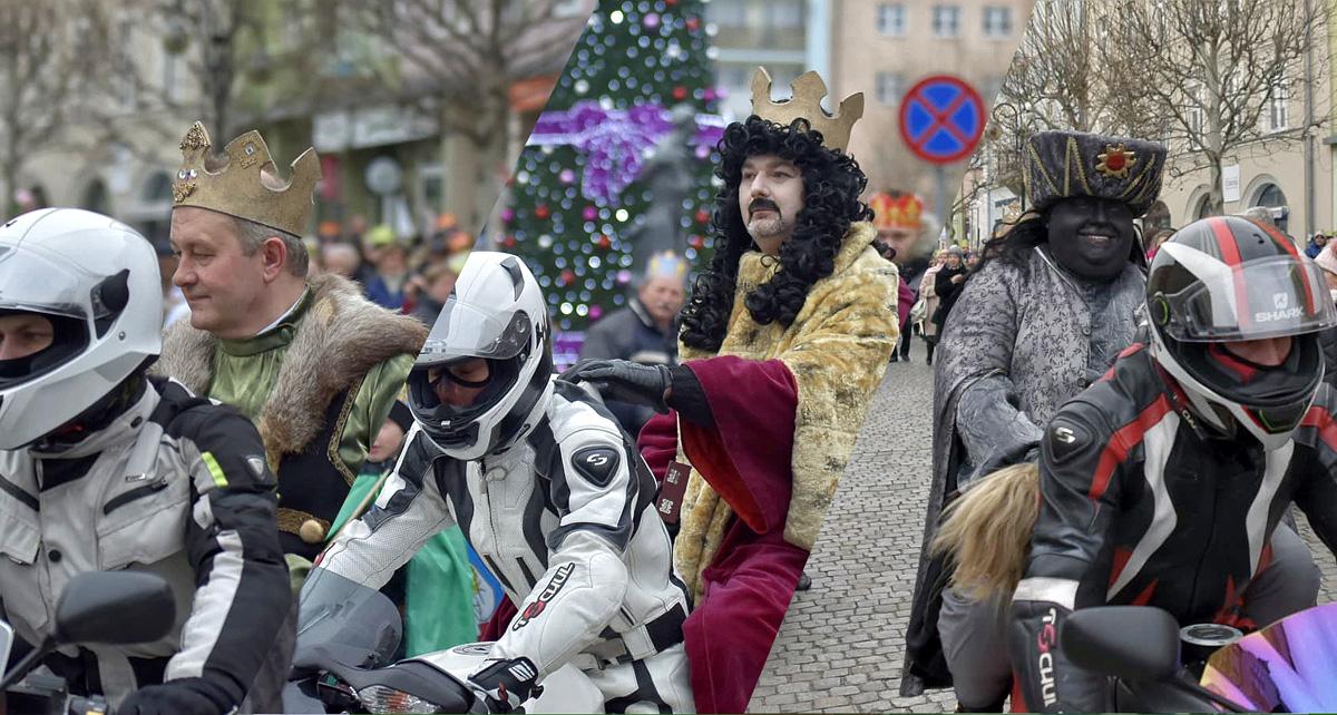 Trzej królowie na stalowych rumakach [FOTO+FILM]