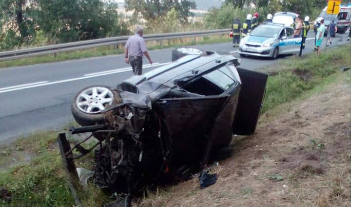 Wypadek na DW374