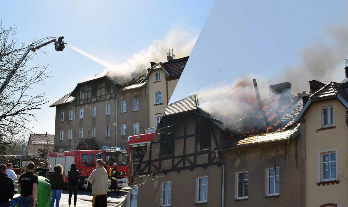 Tragiczny pożar przy ul. Górniczej! [FOTO+FILM]