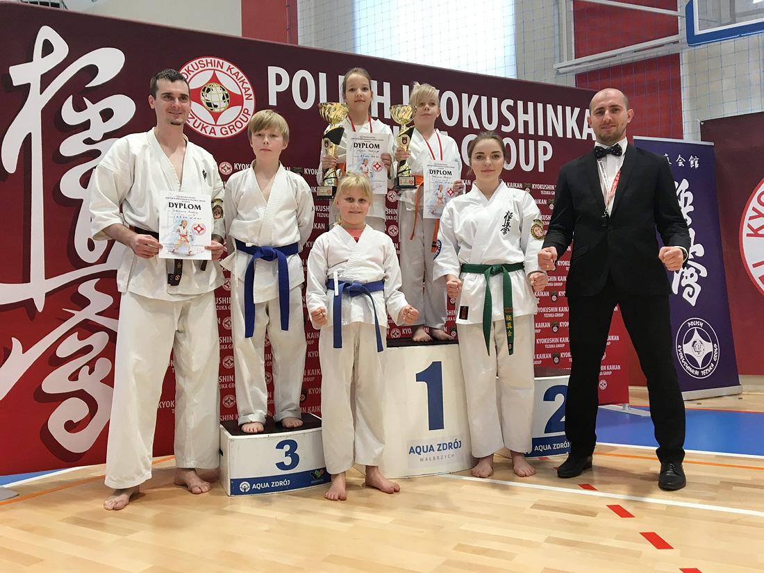 Sukces strzegomskich karateków [FOTO]