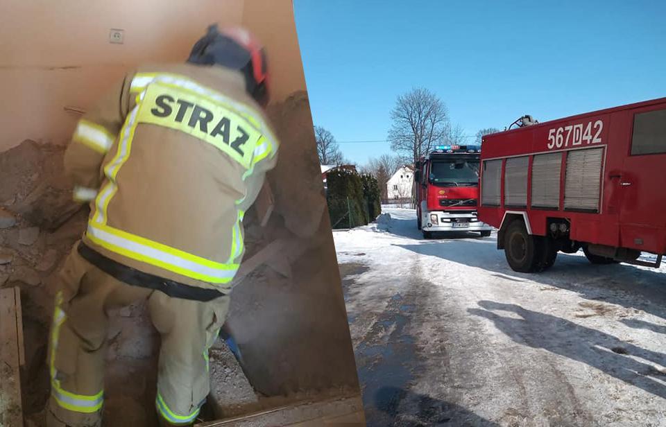 Pilarka i sprzęt burzący były niezbędne [FOTO]