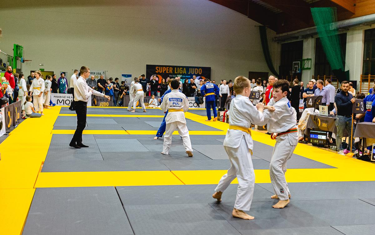 Strzegomianie w Super Lidze Judo [FOTO]