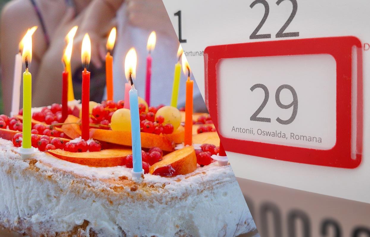 Obchodzą urodziny raz na cztery lata!