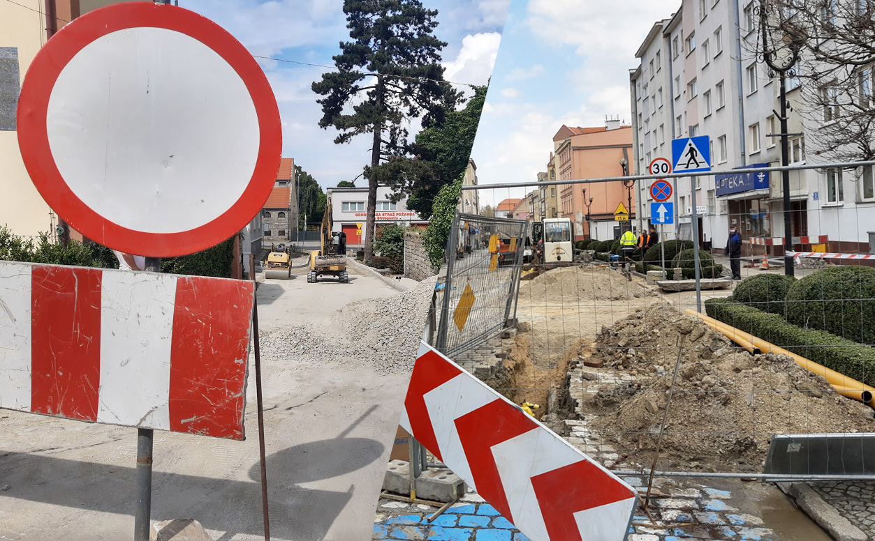 Strzegomskie ulice w przebudowie [FOTO]