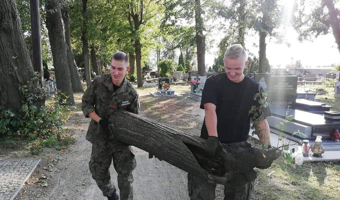 Strzelcy włączyli się w pomoc stanowiczanom [FOTO]