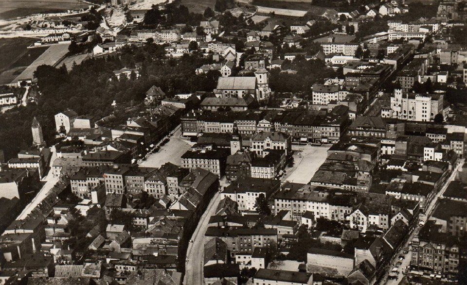 Panoramy miasta  z początku XX wieku [FOTO]