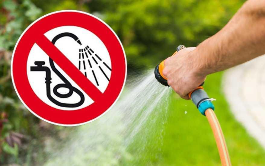 Oszczędzajmy wodę!