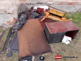 Palił się dom wielorodzinny w Rogoźnicy! [FOTO]