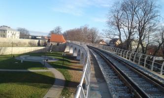 Odnowioną estakadą pojadą pociągi! [FOTO]