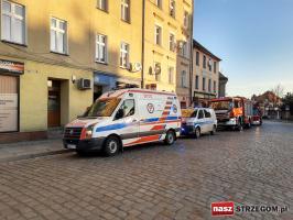 Poparzony mężczyzna trafił do szpitala! [FOTO]