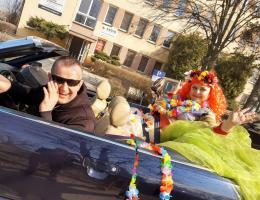 Pani Wiosna na ulicach Strzegomia [FOTO+FILM]