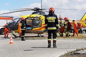 Wybuch w jaroszowskim zakładzie. 10 osób rannych.