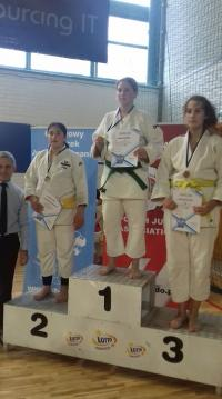 Strzegomskie judoczki ze złotem i srebrem! [FOTO]