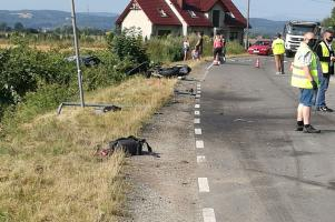 Tragiczny wypadek! Nie żyje 18-letni motocyklista [FOTO]