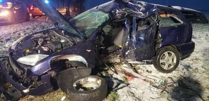 Śmierć poniósł 37-letni kierowca!