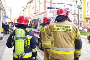 Pożar garnka przy ul. Kościelnej. Jedna osoba poszkodowana! [FOTO]