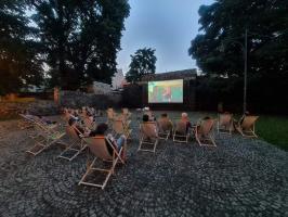 """Szykuje się kolejny seans w ramach """"Kina pod gwiazdami"""" w mieście [FOTO]"""