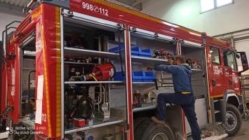Druhowie z OSP Strzegom powitali nowy wóz strażacki [WIDEO+FOTO]