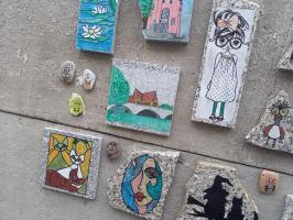 Street art przy ul. Kochanowskiego [FOTO]