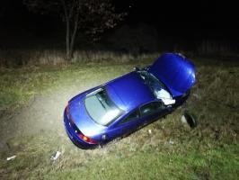 Wypadek na krajowej piątce [FOTO]