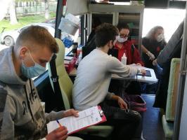 Wolontariusze oddali 13,5 litra krwi [FOTO]